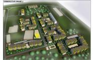 Концепція розвитку території  Land off Long Lane Staines, London, England, UK