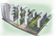 Передпроектні проробки торгівельно-житлового комплексу, вул. Марини Раскової