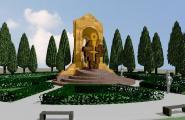Меморіал жертвам вірменського геноциду на Одеській площі, в м Києві