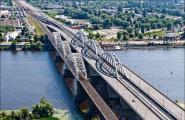 Проект червоних ліній залізнично-автомобільного мостового переходу