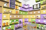 Дизайн інтер'єру дитячого магазину по вул.. Б. Гмирі, 8-Б, у Дарницькому районі м. Києва
