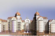 Проект офісного-торгівельного та житлового комплексу на вул. Московській 7