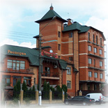 Small hotel with 21 rooms, Boryspil town